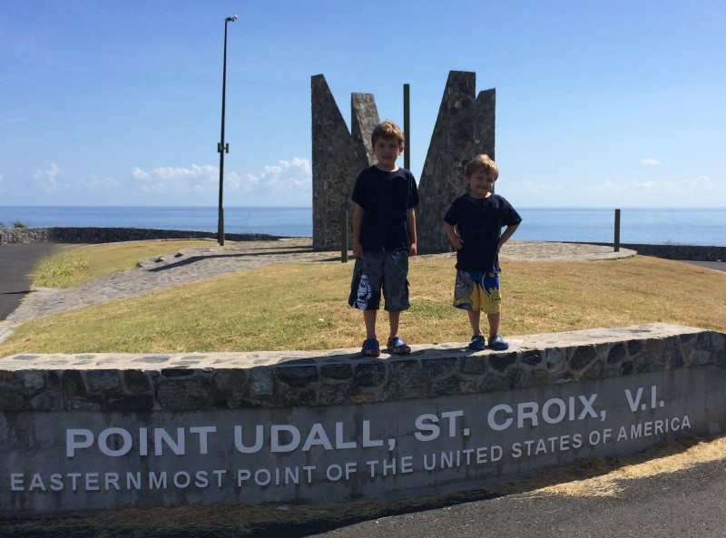 Point Udall St. Croix Eastern Tip of the United States